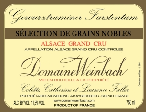 Gewurztraminer Furstentum Grand Cru